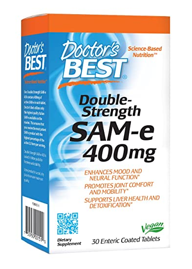 amazon com doctor s best sam e 400 mg vegan gluten free soy free