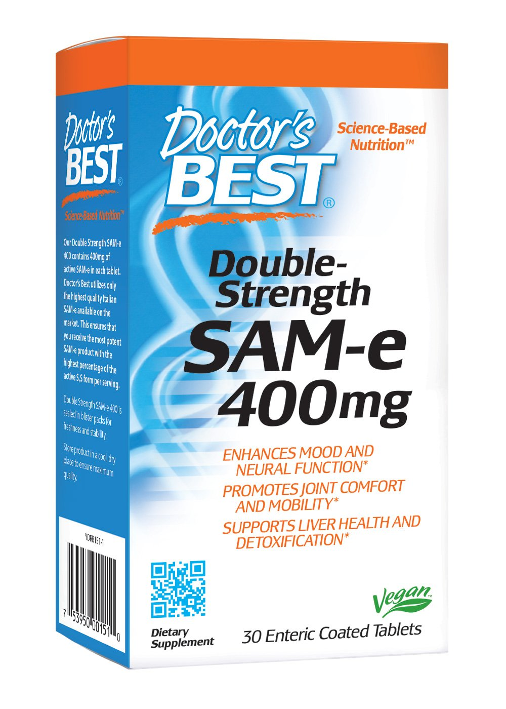 Sam E  Mg  Enteric Coated Tablets By Best Naturals