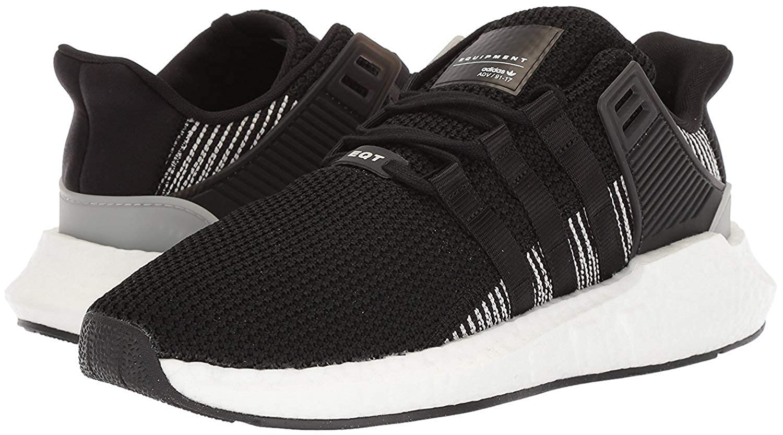 noir On noir-blanc 43.5 EU Adidas EquipHommest Support Adv, paniers Basses Femme