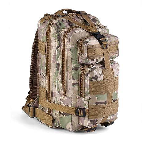 9b1b50808b Zaino Militare Tattico 30 Litri Migvela Zaino Sportivo Borsa Militare a  600D Nylon per Escursionismo Backpacking