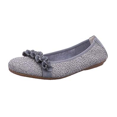 hot sale online 341ac 8f69d Rieker Damen Ballerinas 41464-14 blau 432722