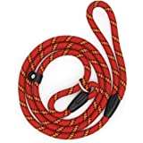 Dog Slip Rope Leash, Sweeethome Rope Lead for Pet, Adjustable Pet Leash Strong Dogs Training Leash Climbing Dog Rope Leash, 5