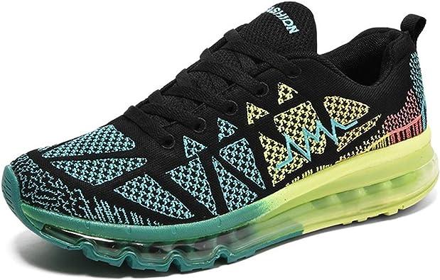 MayFlow Zapatillas para Correr EN Montaña de Lona para Hombre: Amazon.es: Zapatos y complementos