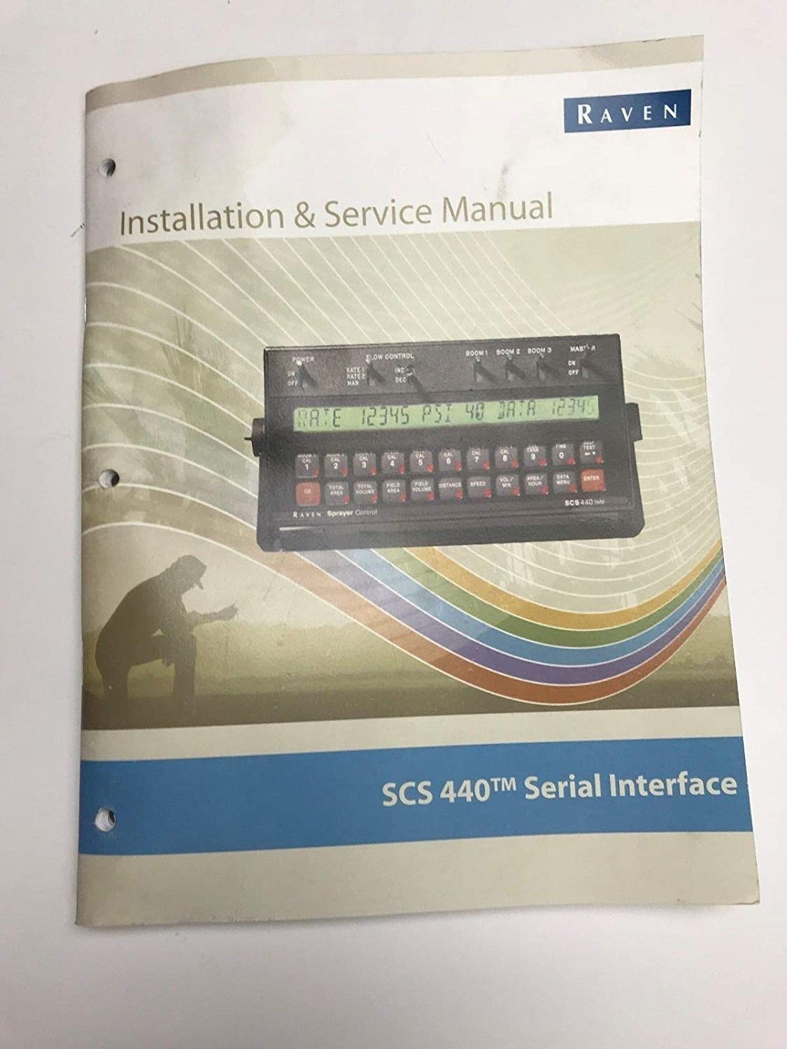 Raven Scs 440 Installation And Service Manual 016 0159 822