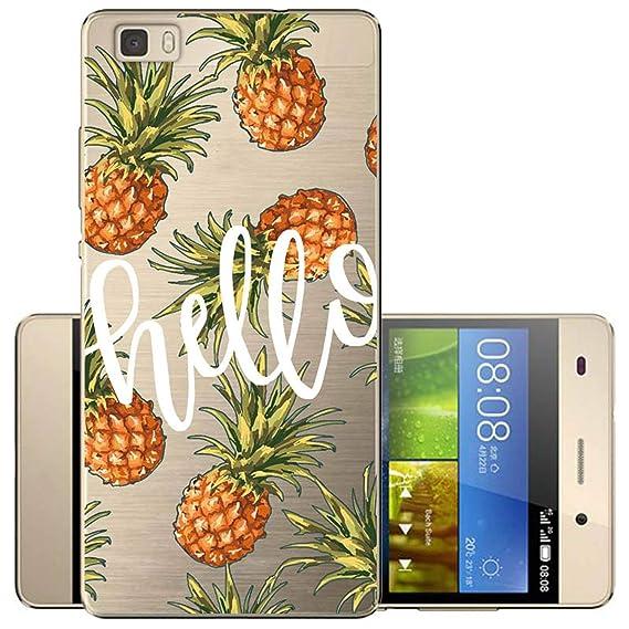 Amazon.com: Case for Huawei P20 Lite Funda Telefoon Case ...