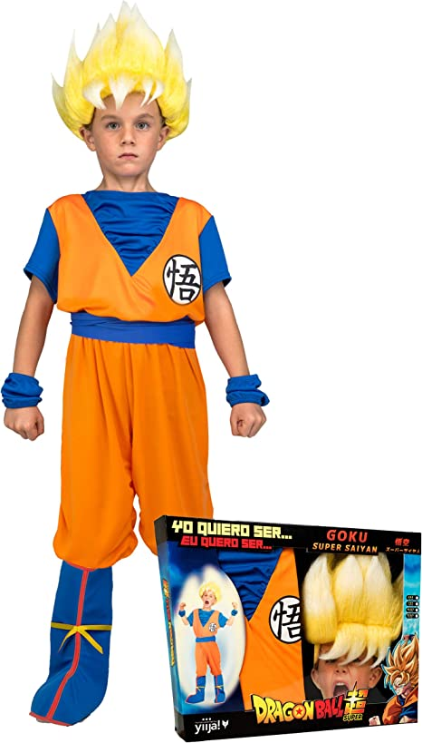 Generique - Disfraz Super Saiyajin Goku Dragon Ball niño con ...