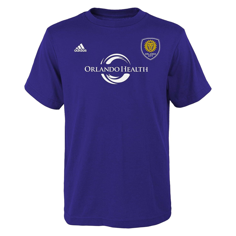 Youth Boys Medium Bahia Blue 10-12 MLS by Outerstuff Short Sleeve Striker Tee