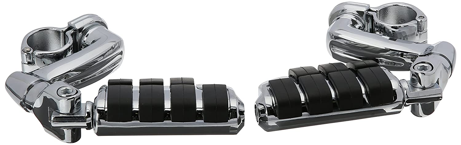 Kuryakyn 4575 Longhorn Offset Dually Pegs with 1-1/4' Magnum Quick Clamp tr-497016