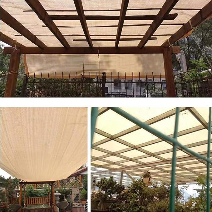 AYXC Lonas para Pergolas -toldos Exterior,Protección Solar,protección UV Beige,pergola,para Terraza Jardín Camping,Toldo Parasol: Amazon.es: Hogar