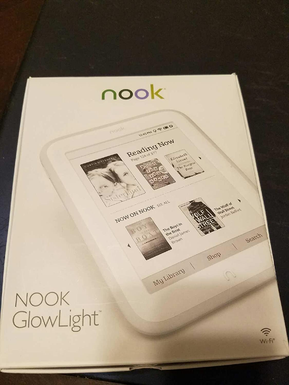 NOOK Simple Touch con Glowlight + Wifi + 4GB (luz incorporado ...