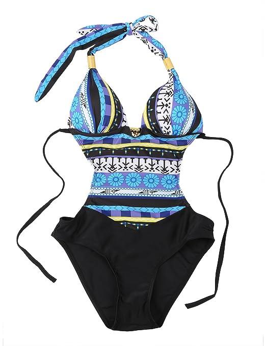58 opinioni per Costumi da Bagno Interi Donna Trikini Costume da Mare Spiaggia Piscina Sexy