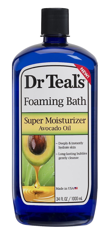Dr Teal's Ultra Moisturizing Foaming Bath with Avocado Oil, 34 Fluid Ounce : Beauty