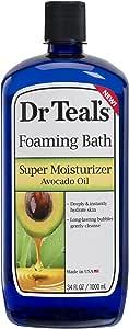 Dr Teal's Ultra Moisturizing Foaming Bath with Avocado Oil, 34 Fluid Ounce