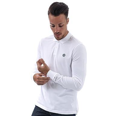 0869234e831 Henri Lloyd Mens Musburry Regular Ls Polo Shirt in White: Henri Lloyd:  Amazon.co.uk: Clothing