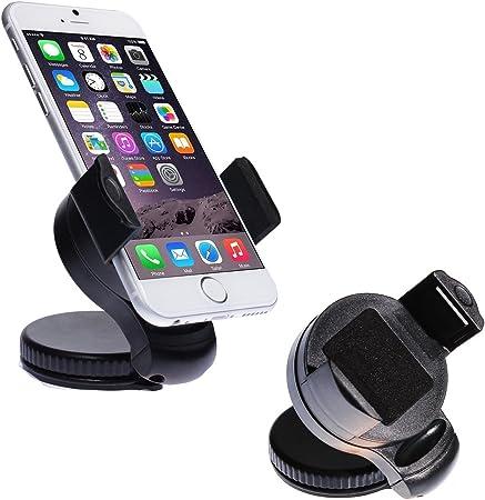 Wortek Universal Kfz Halterung Bis Ca 5 7 Displays Für Apple Iphone 7 Iphone 6s 6s