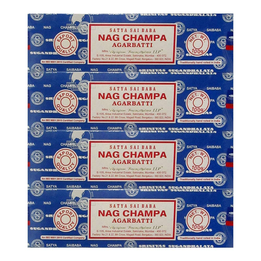 Satya Sai Baba Nag Champa Incense Sticks (400 GRAMS) by Satya Sai Baba