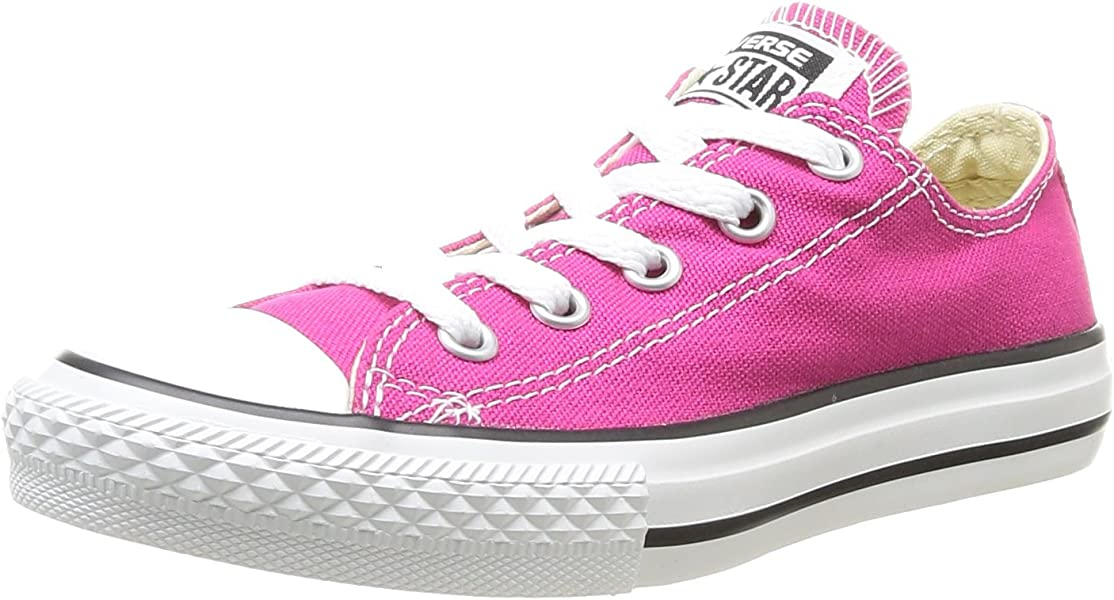 c8dfad11bcfc Converse Girls Chuck Taylor All Star Junior Seasonal OX Trainers ...