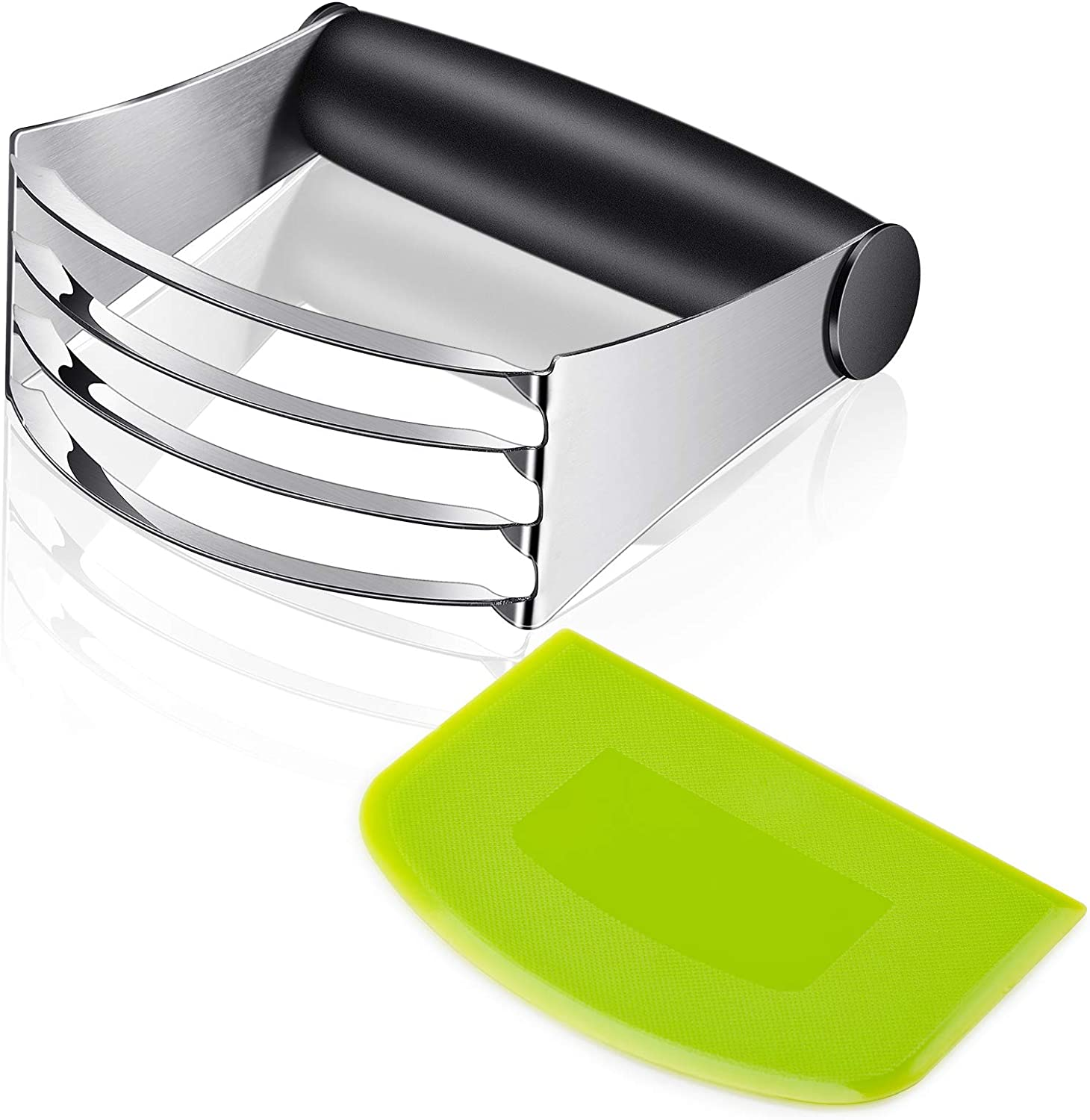 YasTant Top Quality Pastry Cutter – Heavy Duty Dough and Pastry Blender with Sturdy Blades and Ergonomic Grip, Easy Mix Stainless Steel Dough Cutters for Cold Butter, Pie Crust, Scones and More
