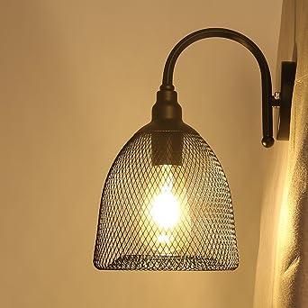 Chrasy Apliques de Pared Luces Iluminación Clásicas Lámparas Industriales pared lámpara de pared del pasillo para
