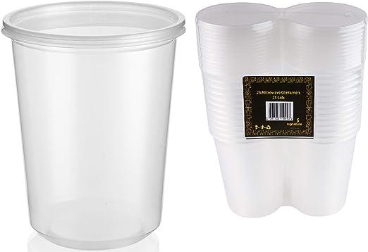 Contenedores de alimentos de plástico para microondas y ...