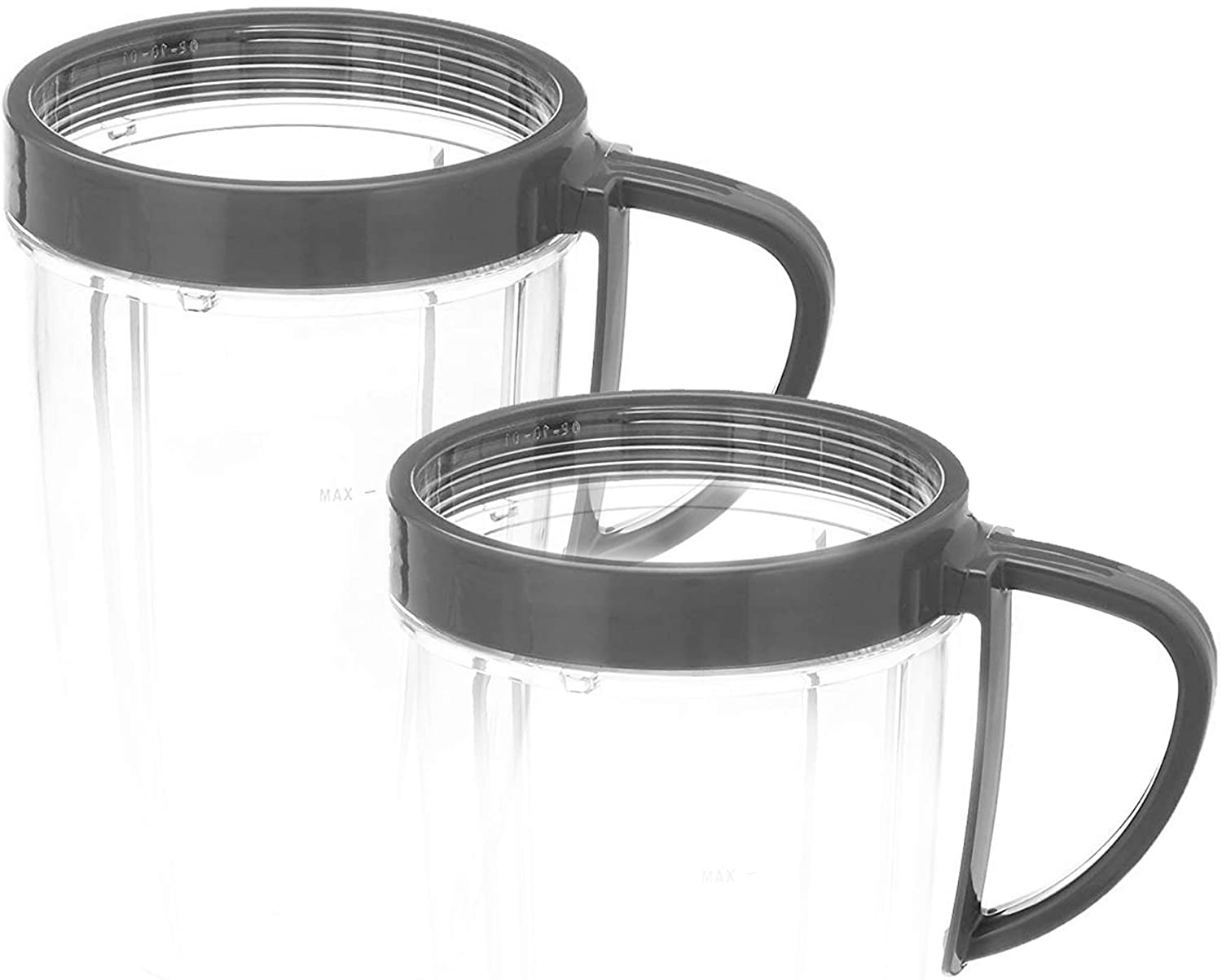 NutriBullet Lip Ring with Handle (set of 2).25 Lbs, Grey