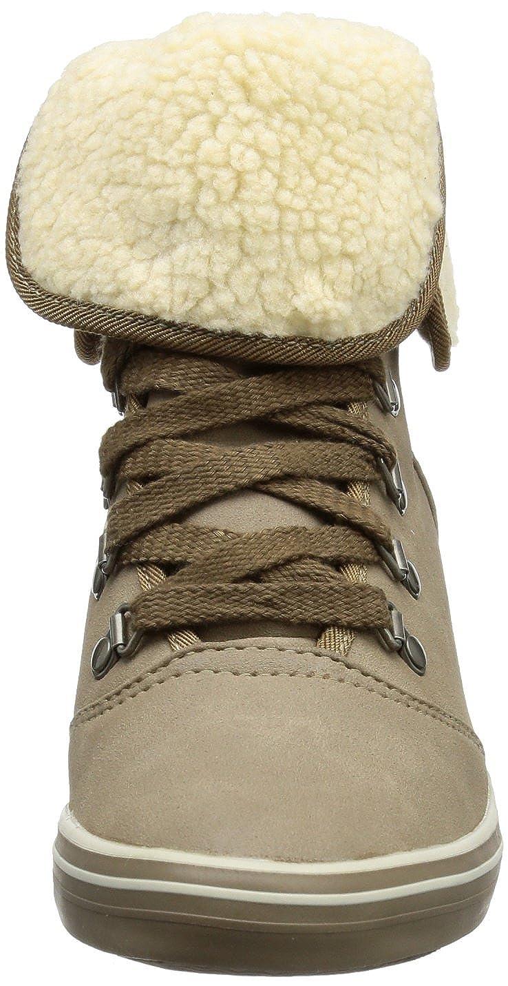 ESPRIT Lexa Lu Wedge Beige 083EK1W012 Damen Sneaker Beige Wedge (Fossil Beige 926) ebc396