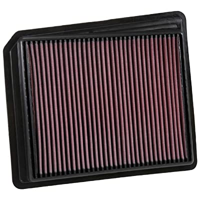K&N Engine Air Filter: High Performance, Premium, Washable, Replacement Filter: 2020-2020 NISSAN Titan, 33-5062: Automotive