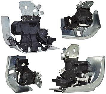 Renault Grand Scenic Mk2 (2004 - 2015) Escape Montaje De Goma Trasera Bracker: Amazon.es: Coche y moto