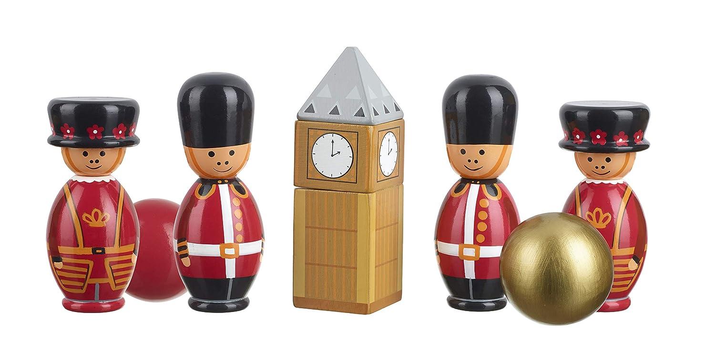 Orange Tree Toys London Wooden Skittles,