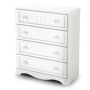 South Shore Savannah Collection  Drawer Chest White