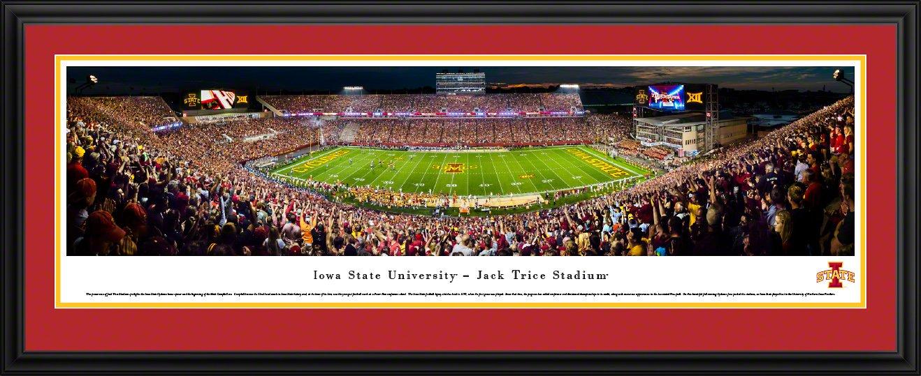 Blakeway Panoramas College Sports Posters Iowa State Football 50 Yard