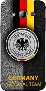 ColorKing Football Germany 17 Black shell case cover for Samsung J3 2016