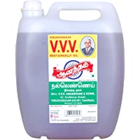 VVV Anandham Sesame Gingelly Oil Can (5 L)
