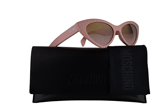 b3199a2150 Moschino MOS006 S Sunglasses Pink w Brown Gradient Lens 52mm 35J53 MOS 006S  MOS