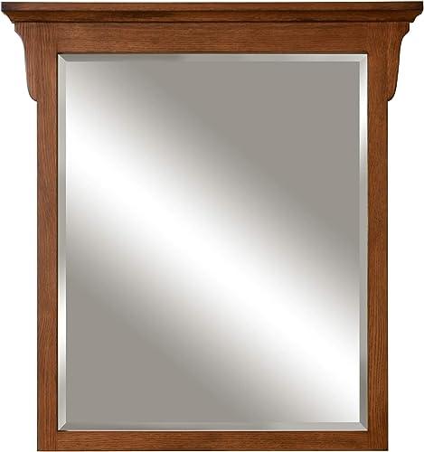 Sunny Wood MO3038MR MO3038MR Mission Oak 30 Framed Mirror
