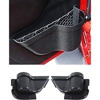 Savadicar DP3 bolsillos de almacenamiento para puerta delantera, caja organizadora para Jeep Wrangler JK JKU 2/4 puertas…