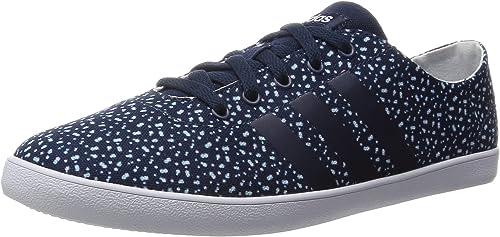 adidas VS QT Vulc W, Chaussures de Sport Femme, NoirBlanc
