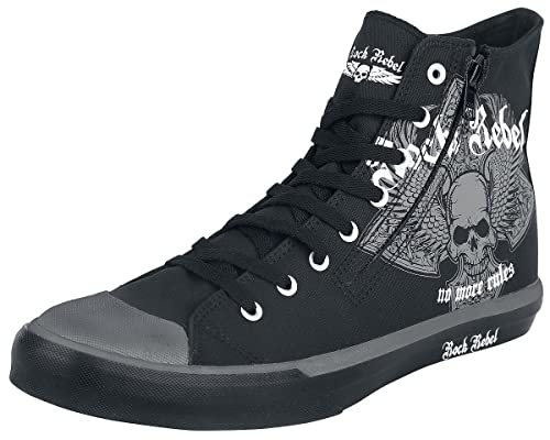 Rock Rebel by EMP Walk The Line Zapatillas Negro EU42