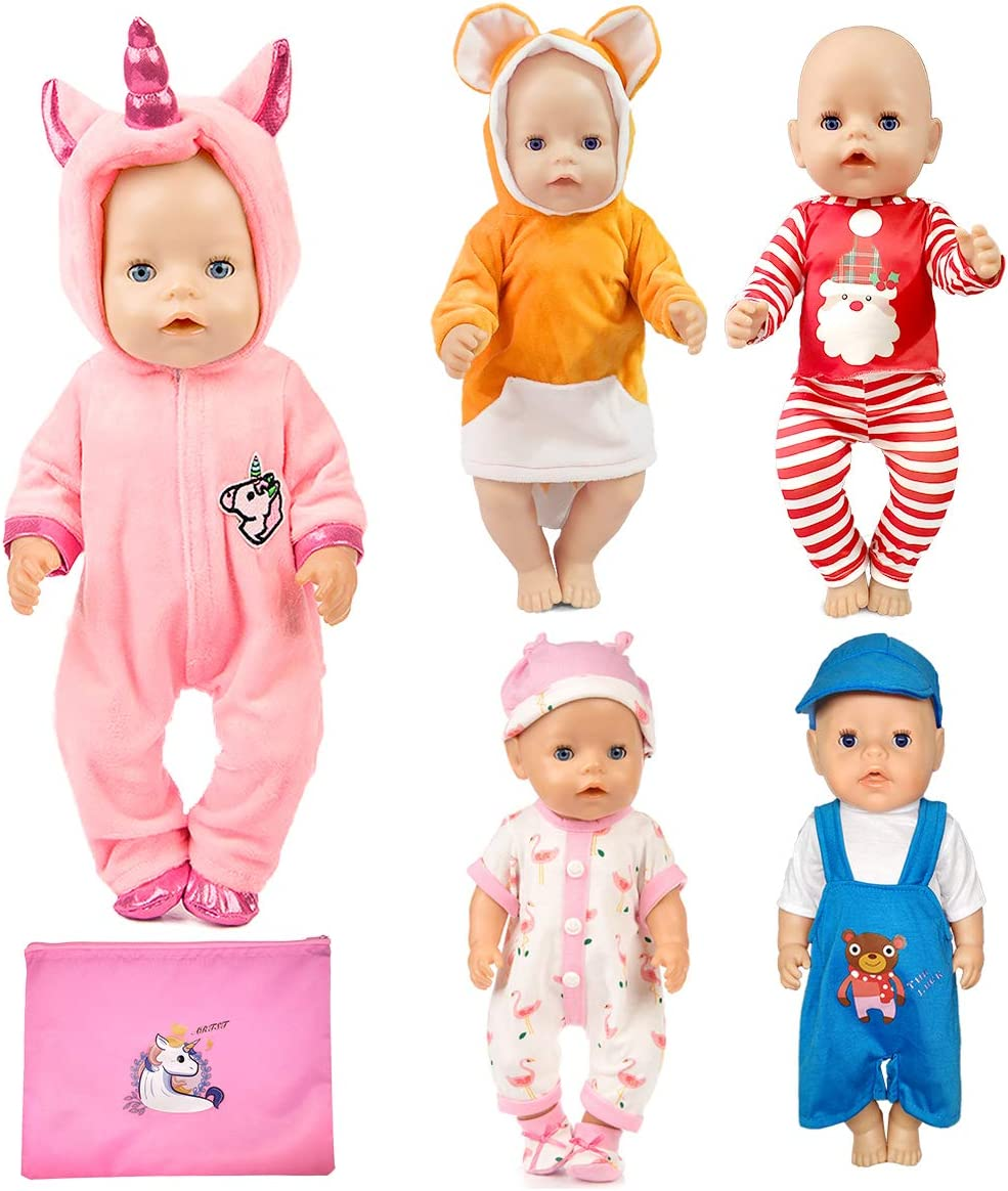 15 Different Doll Outfits For 18 Inch Baby Dolls   ALL are NEW