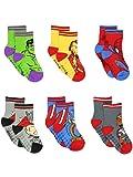 Super Hero Adventures Avengers Boys 6 pack Socks