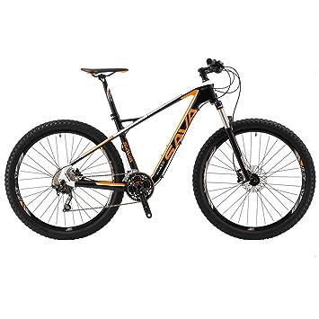"""Sava 27.5""""Bicicleta de Montaña de Fibra de Carbono MTB 30-Velocidad Shimano M610"""