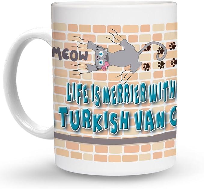 Amazon.com: Makoroni - LIFE IS MERRIER WITH A TURKISH VAN ...