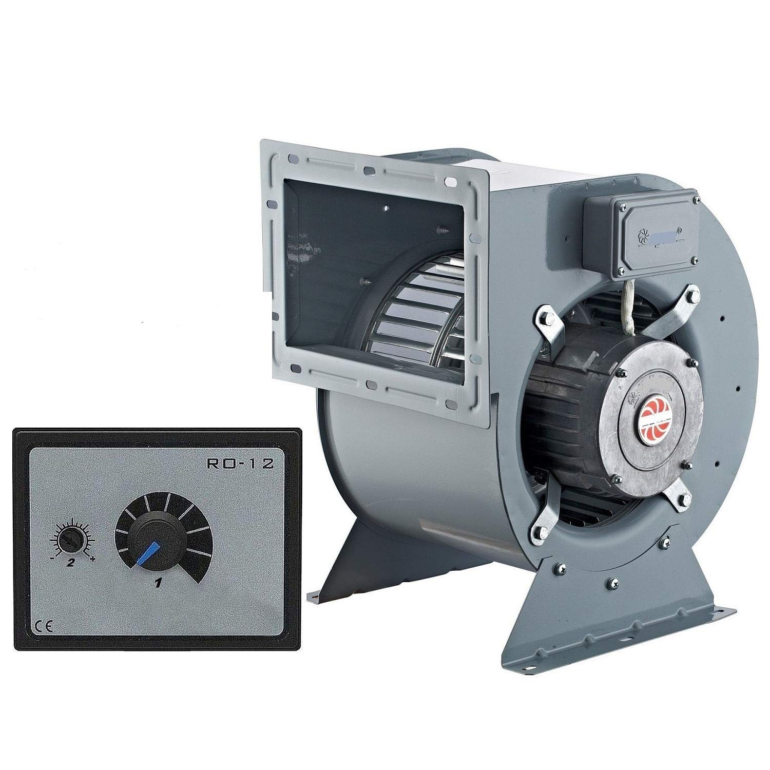 Industrial Silent Fan BLOWER with 500W SPEED CONTROLLER CONTROL Regulator duct extractor industrial fan blower Fume Extract Commercial centrifugal Radial fan ventilation extractor ducting Industrial Centrifugal Fan Extractor ventilation Commercial Radial M