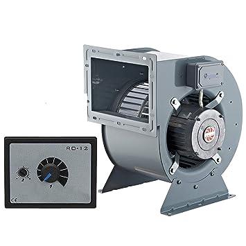 2000m³/h Ventilador industrial con 500W Regulador de Velocidat Ventilación Extractor Ventiladores industriales extractores centrifugo