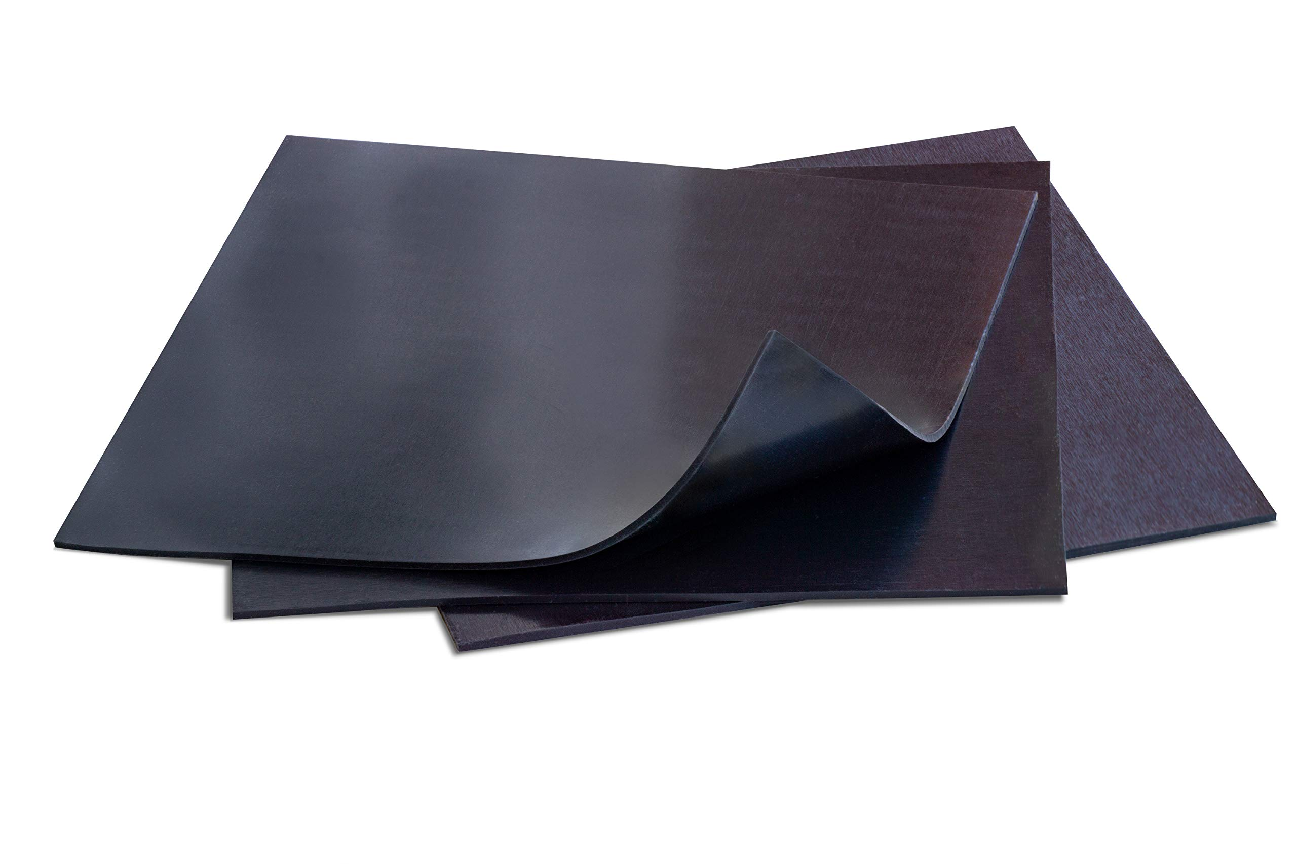 Silicone Rubber Sheet 12x12-inch by 1//8 Black Duro Shore A65// High Temperature Heavy Duty for Gaskets DIY Material Supports Leveling Sealing Bumpers Protection Abrasion Covers