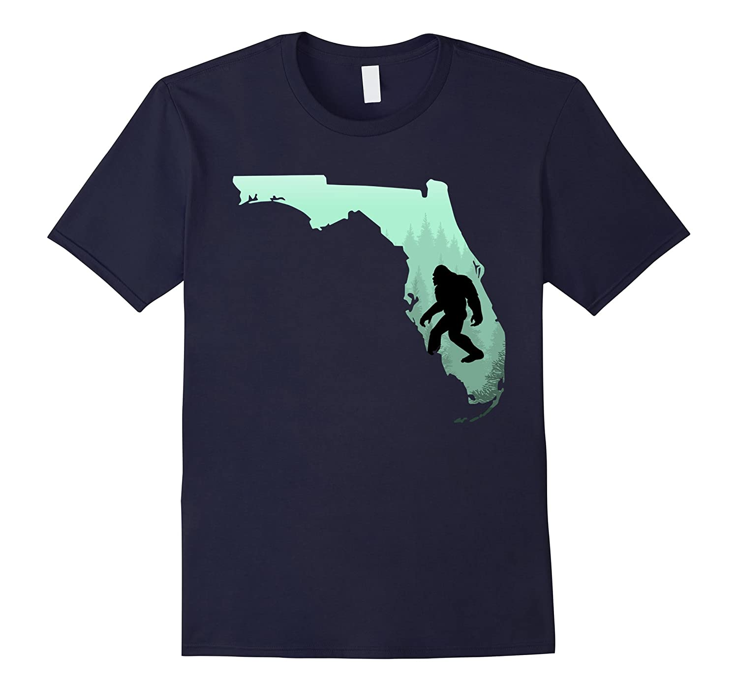 Florida Bigfoot T-shirt-Art
