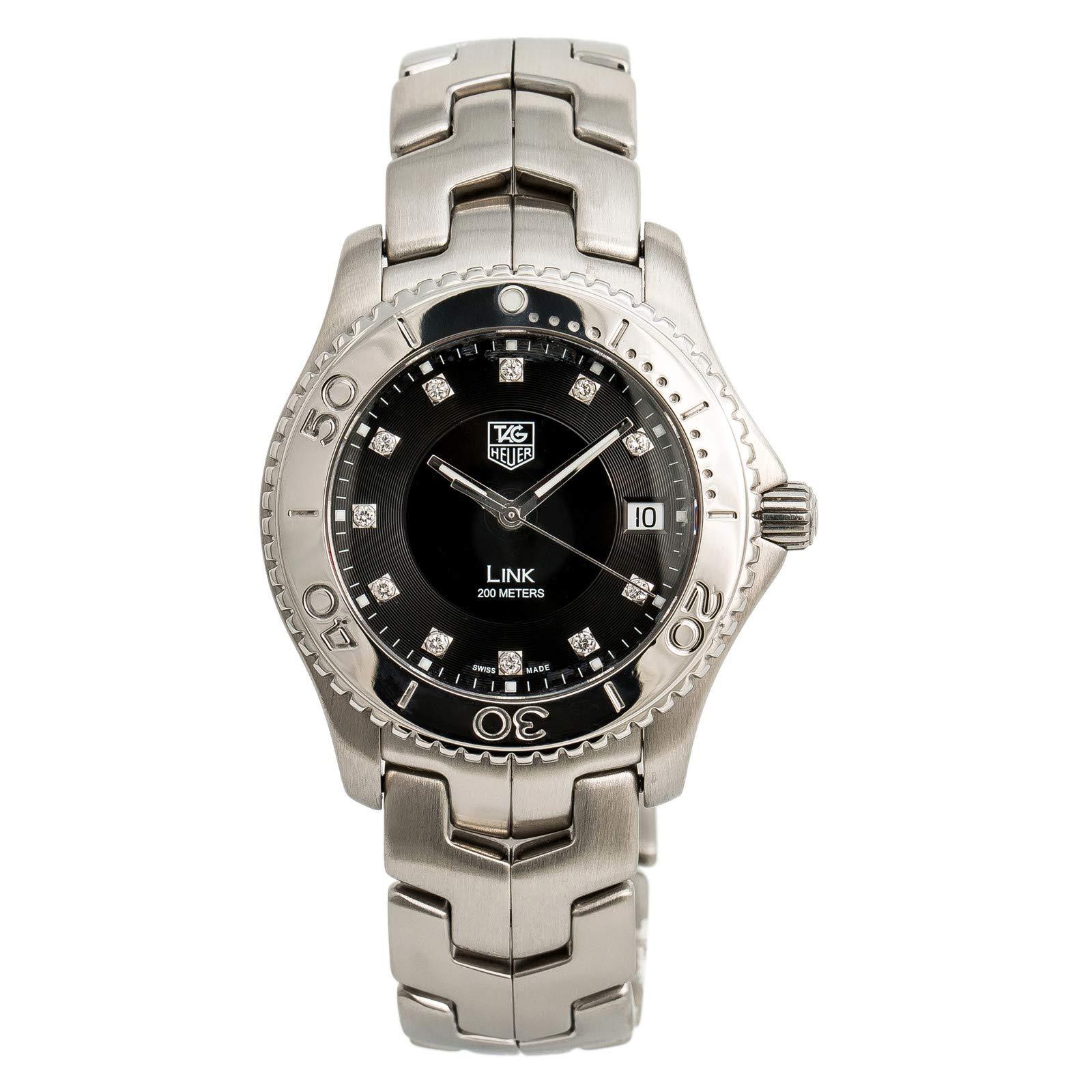 Tag Heuer Link Quartz Male Watch WJ1113.BA0575 (Certified Pre-Owned)