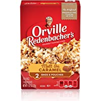 Orville Redenbacher's Melt On Caramel Microwave Popcorn, 11.57 oz, 2 Count (Pack of 12)