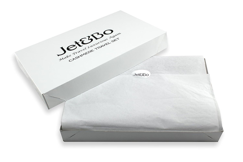 Amazon.com: Jet & Bo 100% cachemir. Set: manta de viaje ...