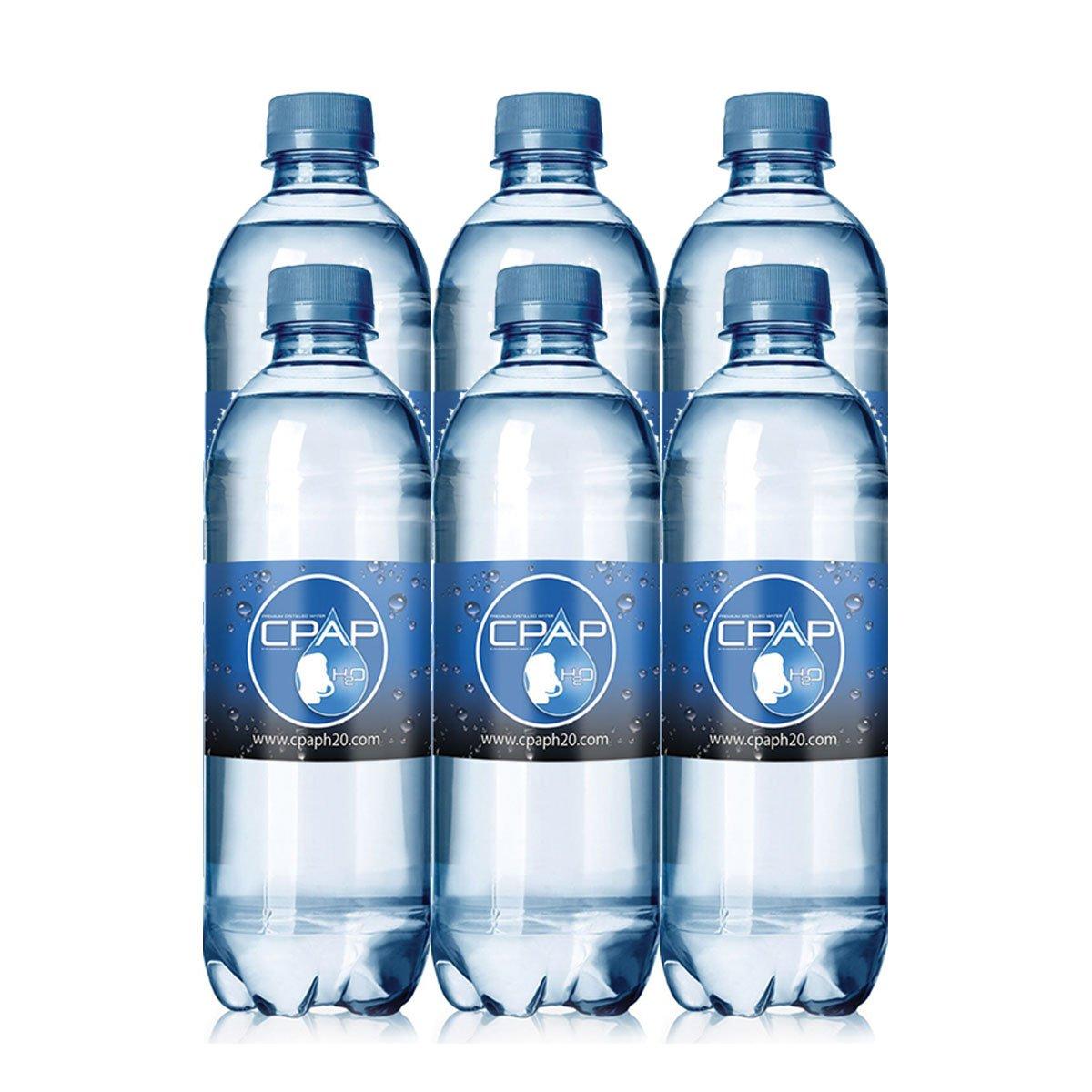 16.9 oz CPAP H20 Premium Distilled Water (Pack of 6)